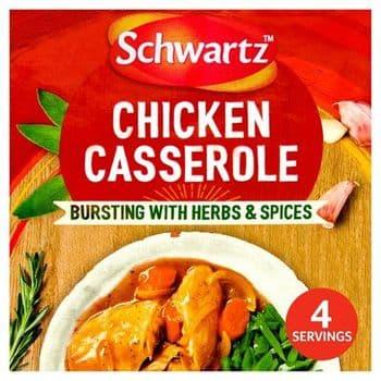 Schwartz Authentic Chicken Casserole Mix 36G
