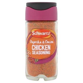 Schwartz Chicken Seasoning Paprika & Onion 50G