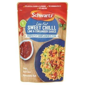 Schwartz Chilli Lime Coriander Wet Sauce For Fish 300G