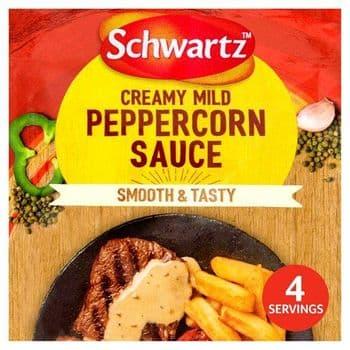 Schwartz Creamy Mild Peppercorn Sauce 25G