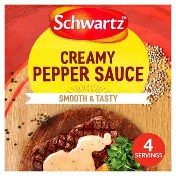 Schwartz Creamy Pepper Sauce 25G