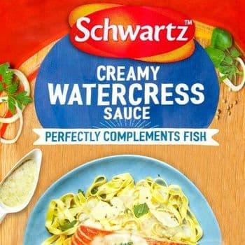 Schwartz Fish Creamy Watecress Sauce 300G