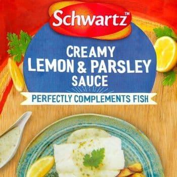 Schwartz Fish Lemon & Parsley Sauce 300G