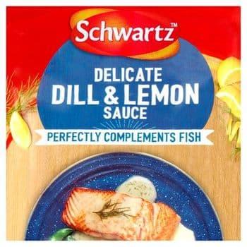 Schwartz For Fish Dill & Lemon Sauce 300G