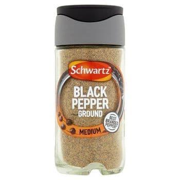 Schwartz Ground Black Pepper 33G Jar