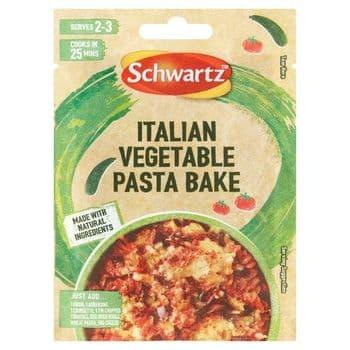 Schwartz Italian Vegetable Pasta Bake Seasoning Mix 20G