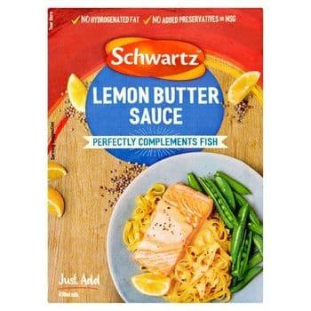 Schwartz Lemon Butter Sauce Mix 38G