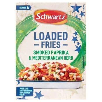 Schwartz Loaded Fries Smoked Paprika Mediterranean Herb 20G
