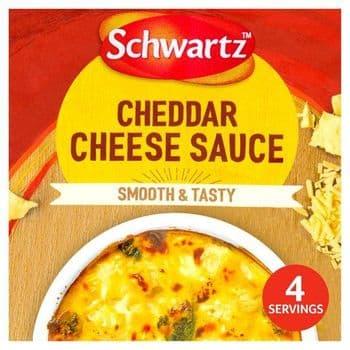 Schwartz Mix For Cheddar Cheese Sauce 40G