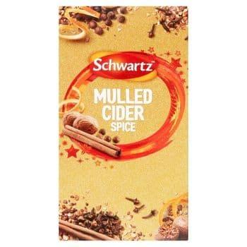 Schwartz Mulled Cider Spice 18G