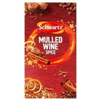 Schwartz Mulled Wine Spice Refill 18G