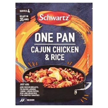 Schwartz One Pan Cajun Chicken & Rice 32G