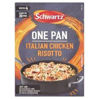 Schwartz One Pan Italian Chicken Risotto 28G
