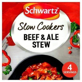 Schwartz Slow Cooker Beef & Ale Stew 43G