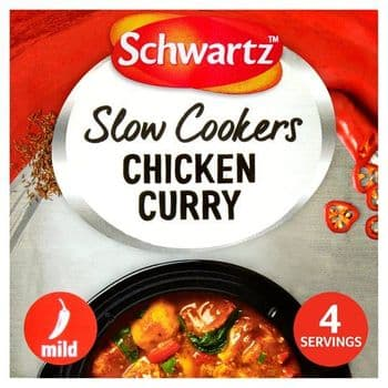 Schwartz Slow Cookers Chicken Curry 33G