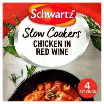 Schwartz Slow Cookers Chicken In Red Wine 35G