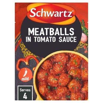 Schwartz Spanish Meatballs In Tomato Sauce 30G