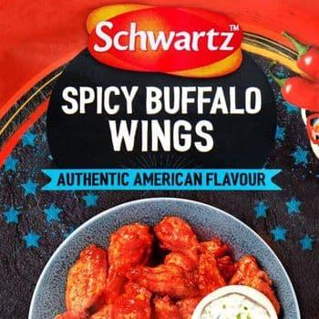 Schwartz Spicy Buffalo Wings Mix 30G