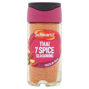 Schwartz Thai 7 Spice Seasoning 52G Jar