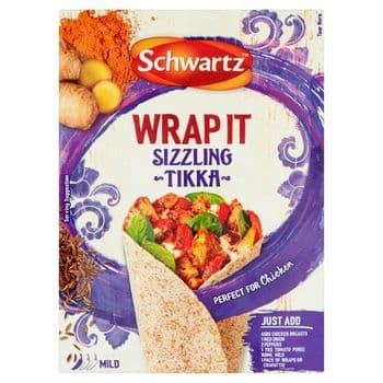 Schwartz Wrap It Sizzling Tikka 30G