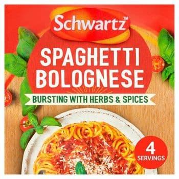 Schwtz Authentic Spaghetti Bolognese Sauce Mix 40G