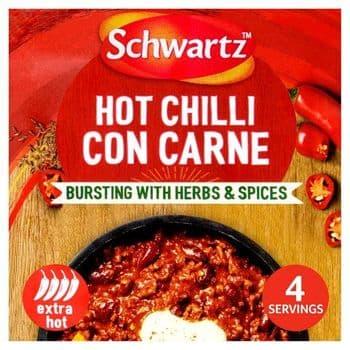 Schwtz Hot Chilli Con Carne Casserole Mix41g