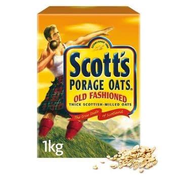 Scott's Old Fashion Oat Porridge 1Kg