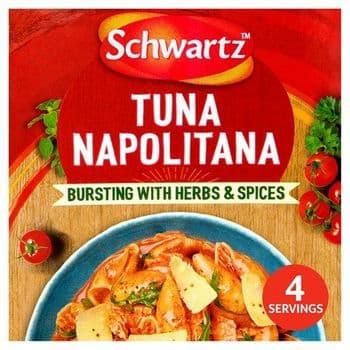 Scwartz Auth Tuna Napolitana Mix 30G