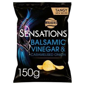 Sensations Onion & Balsamic Vinegar 150G