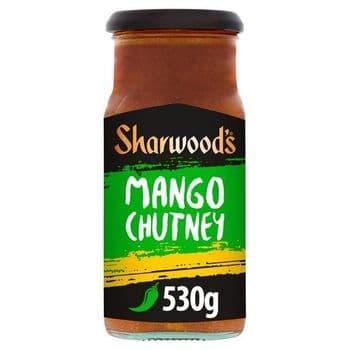 Sharwoods Green Label Mango Chutney 530G