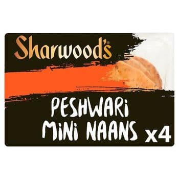 Sharwoods Mini Naan Peshwari 260G