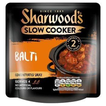 Sharwoods Slow Cooker Balti Sauce 170G