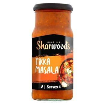 Sharwoods Tikka Masala Mild-Med Sauce 420G