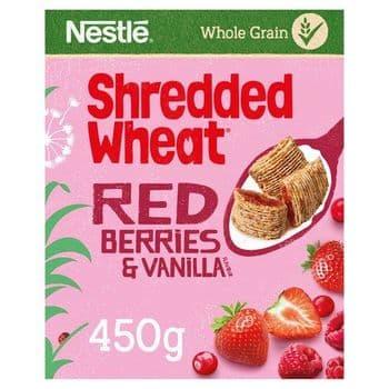 Shredded Wheat Red Berries & Vanilla 450G