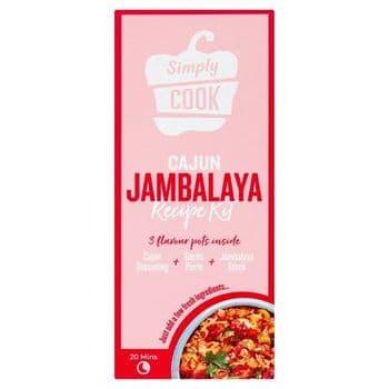 Simply Cook Cajun Jambalaya Cooking Kit 60G