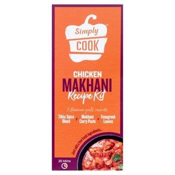 Simply Cook Chicken Makhani Cooking Kit 41G