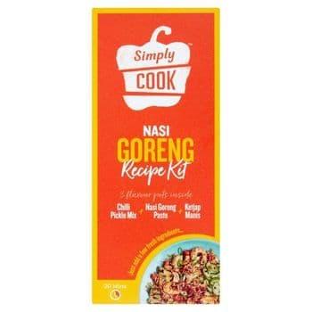 Simply Cook Nasi Goreng 3 Step Cooking Kit 71G