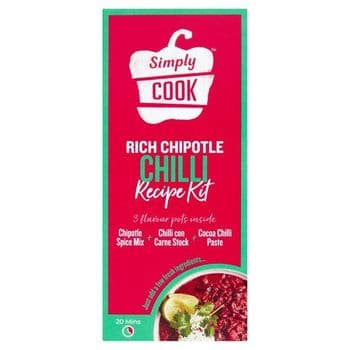 Simplycook Rich Chipotle Chilli Cooking Kit 70G