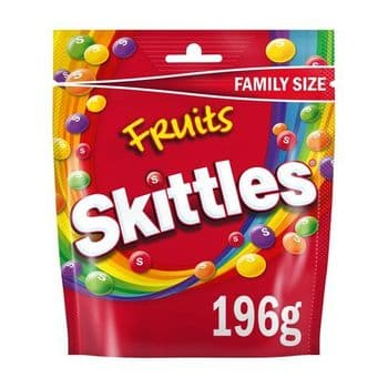 Skittles Fruits Pouch 196G