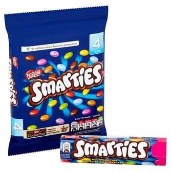 Smarties 4 Pack 152G