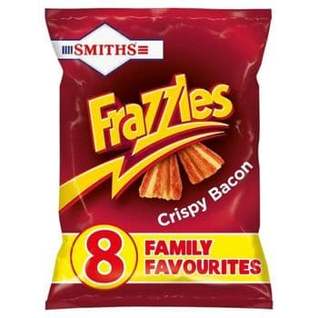 Smiths Frazzles Bacon Snacks 8 Pack