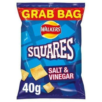 Squares Salt & Vinegar 40G