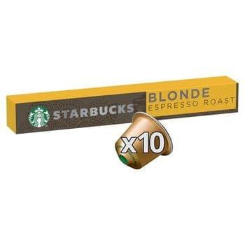 Starbucks Blonde Espresso Coffee Pods 10 Pack 53G