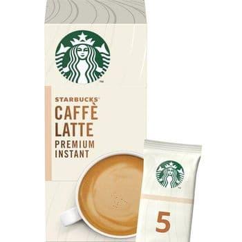 Starbucks Caffe Latte Premium Instant Sachets 5 X 14G
