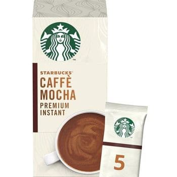 Starbucks Caffe Mocha Premium Instant Sachets 5 X 22G