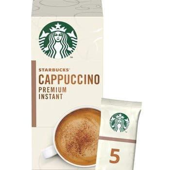 Starbucks Cappuccino Premium Instant Sachets 5 X 14G