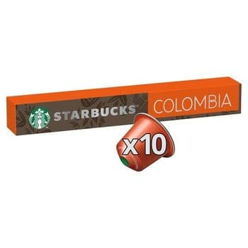 Starbucks Colombia Coffee Pods 10 Pack 57G