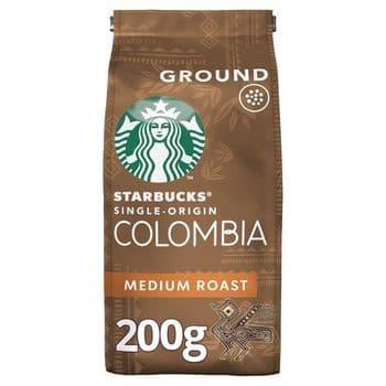 Starbucks Colombian Ground Coffee 200G