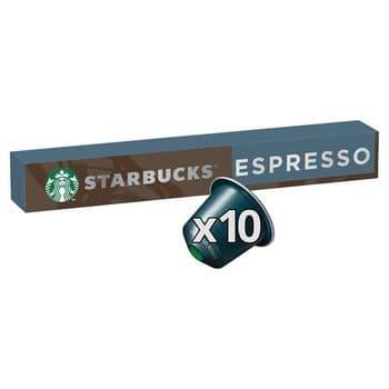 Starbucks Espresso Roast Coffee Pods 10 Pack 57G