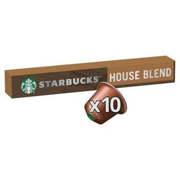 Starbucks House Blend Coffee Pods 10 Pack 57G